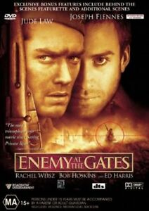 Enemy At The Gates DVD TOP 1000  MOVIES Jude Law Ed Harris Joseph Fiennes NEW R4