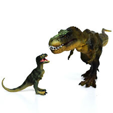 "12"" Tyrannosaurus Rex + Baby T-Rex Dinosaur Toy Figure BDay Christmas Gift Dinos"