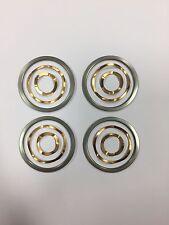 4 Rondelles de glissement + 4 contacts onduflex COPPER CONTACTS lampe JIELDE