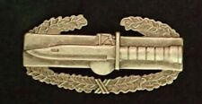 US Army Combat Action Badge Award Clutch Back G1 UT, Matte Finish & Good Cond.