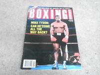NOV 1993 BOXING ILLUSTRATED magazine MIKE TYSON