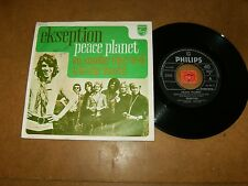 EKSEPTION - PEACE PLANET - ON SUNDAY THEY WILL KILL - 45 PS  / LISTEN - POP ROCK