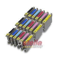KIT 18 CARTUCCE COMPATIBILI CON CHIP PER STAMPANTE EPSON STYLUS PHOTO R300 R 300