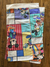 Handmade Mickey Mouse Standard Size Pillowcase Pair (2) Cool Disney Bed Bedding