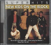 NEW KIDS ON THE BLOCK / SUPER HITS - US IMPORT * NEW CD 2007 * NEU *