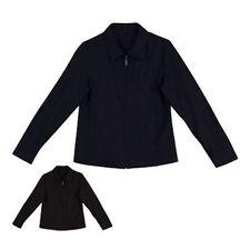 Viscose Solid Coats, Jackets & Vests for Women