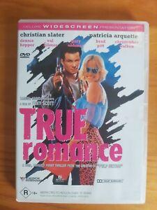 True Romance (DVD, 1999) VGC : Free Priority  Shipping !!!