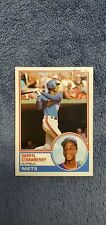1983 Topps Traded #108T Darryl Strawberry New York Mets Rookie card...REAL NICE!