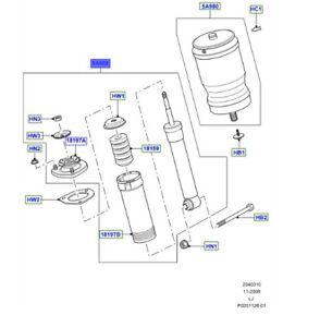 LAND ROVER GENUINE PART- DAMPER -Range Rover (L322) -RPD500940
