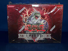 Yu-Gi-Oh Dinosaur's Rage 1st Edition Structure Deck Sealed Display Of 8 Decks