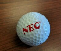 Vintage 1990s NEC Turbografx Spalding Top-Flite XLII golf ball promo promotional