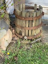 Vintage Wine Fruit Press - Hardware Only