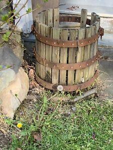 Vintage Wine Fruit Press - Hardware Only