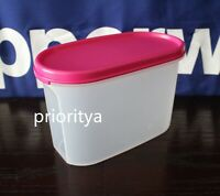 Tupperware Modular Mates Oval Container #2 with Flat Seal in Pink New
