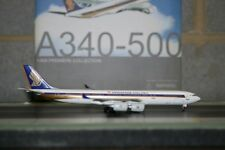 Dragon Wings 1:400 Singapore Airlines Airbus A340-500 9V-SGC (55750) Model Plane