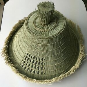 Japanese Samurai Hat Roningasa Edo Style Hand Made Japan Historical Cosplay New