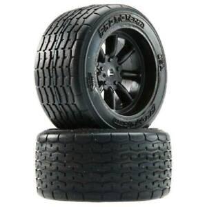 Protoform VTA Rear Tires 31mm Mounted Black Wheels (2) 10139-18