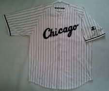 VINTAGE STARTER CHICAGO WHITE SOX JERSEY IN SIZE L