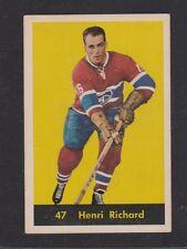 1960-61  PARKHURST # 47 HENRI  RICHARD  EX+  INV M161