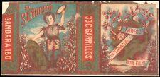 Philippines EL SENORITO Cigarette Label