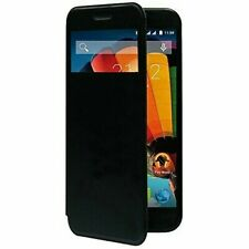 MEDIACOM Flip Smart Cover per PhonePad Duo G512 Nero ORIGINALE