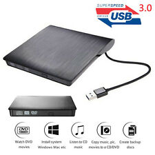 Externes DVD Laufwerk USB 3.0 Brenner  CD DVD-RW Brenner für PC Laptop Mac