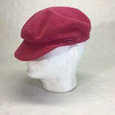 Kangol Bermuda Enfield Pink Cap Size Large