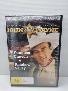 John Wayne anniversary collection paradise canyon + rainbow valley dvd BRAND NEW