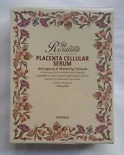 Rosanna Placenta Cellular Serum Whitening Anti Ageing Formula 10ml x 3