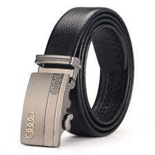 Audi Genuine Leather Belt Men Accessories Automatic Buckle Fashion Designer
