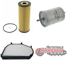 FilterSet (M): 1x Kraftstofffilter, 1x Ölfilter, 1x Innenraumfilter