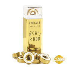 Andale P-Rod Signature Pro Rated Gold Pen Box Skate Bearings