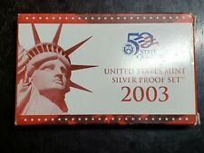 New Listing2003 Us Mint Silver Proof Set with Box/Coa - Us Coins
