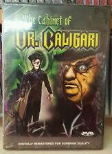 The Cabinet of Dr. Caligari (DVD 1919)  German B&W Silent Film, Hypnosis