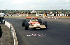 Graham Hill Gold Leaf Team Lotus 49B British Grand Prix 1969 Photograph 6