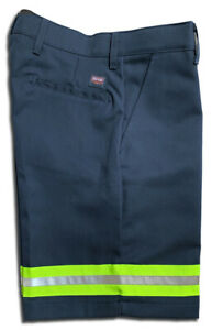 Red Kap Hi Vis Reflective Work Shorts Enhanced Vis Men's Industrial Uniform