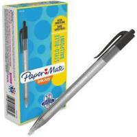 Paper Mate Inkjoy 100 Rt Pens - Medium Point Type - 1 Mm Point Size - Black Ink