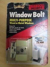 INGERSOLL SL60 WINDOW LOCK FOR METAL WOODEN WINDOWS PACK OF 2