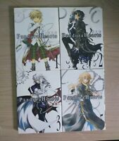 JAPANESE Pandora Hearts 1-3, 5, Lot of 4 Shonen Manga, JAPANESE