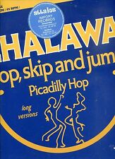 CHALAWA hop, skip and jump 12INCH 45 RPM HOLLAND 1978 EX