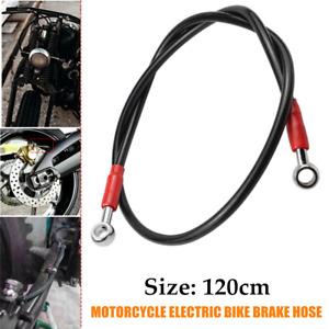120cm Universal Motorcycle Electric Bike Brake Pipe Brake Oil Hose Line Fittings