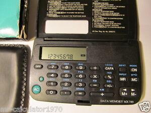 PERSONAL ELECTRONIC DATABANK  MX749 1990