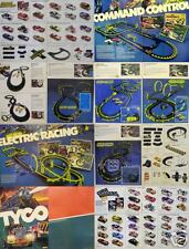 1979 TYCO Toys 47pg Slot Car, Bldng & Train Catalog NOS