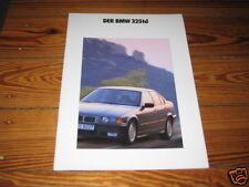Prospekt BMW E36 3er 325 td von 1991