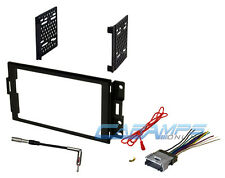2004-2008 GRAND PRIX CAR STEREO DOUBLE 2 DIN DASH INSTALL KIT WITH WIRE HARNESS