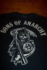 SONS OF ANARCHY Skull Grim Reaper T-Shirt  MEDIUM NEW Motorcycles