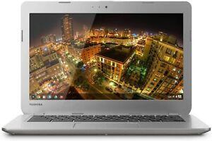 """Toshiba Chromebook 13.3"""" 2GB RAM 16GB SSD Intel Celeron 2955U Chrome OS Webcam"""