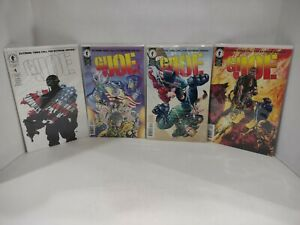 Complete Set of G.I. Joe 1995 Dark Horse 1-4