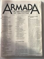 SPI Classic Wargame Armada The War With Spain Dec. 1586 - Oct. 1588 Unpunched