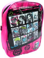Official Monster High Backpack With Raise Front PVC School Bag Rucksack B012301